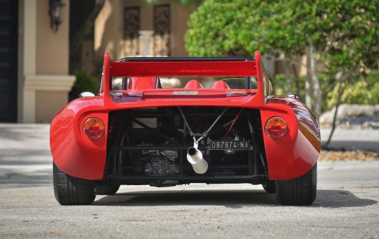 Bizzarrini 128P Barchetta Back