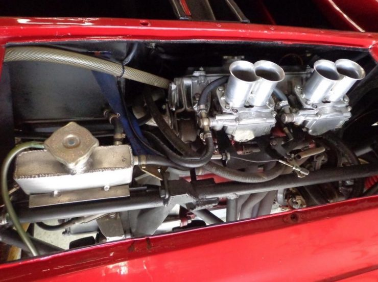 Bizzarrini 128P Barchetta Engine