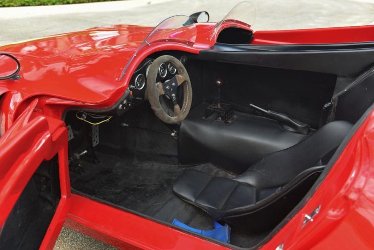 Bizzarrini 128P Barchetta Interior 2