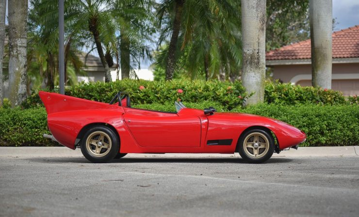 Bizzarrini 128P Barchetta Side