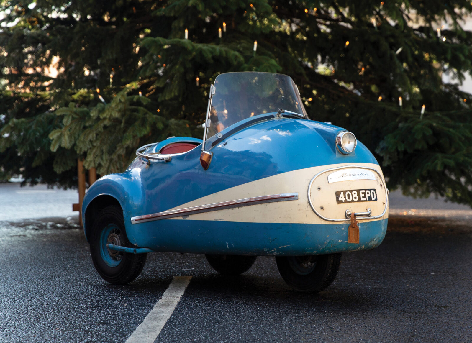 The Brütsch Mopetta A Rare And Unusual German Microcar