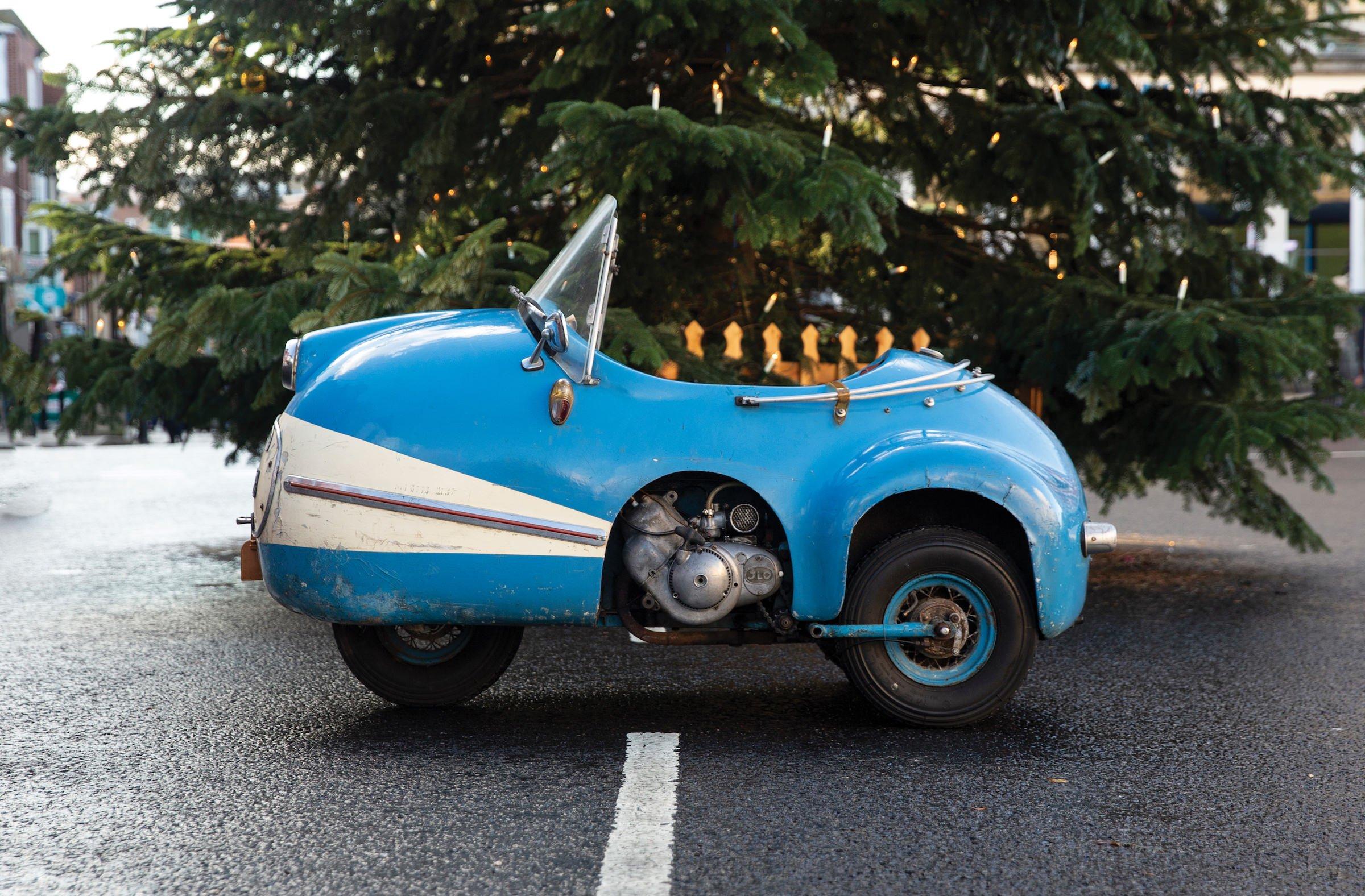 The Brütsch Mopetta - A Rare And Unusual German Microcar