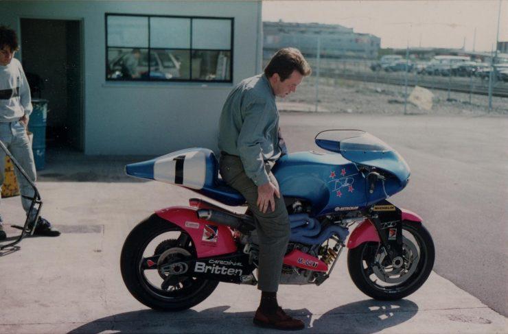 Britten V1000 Motorcycle 1