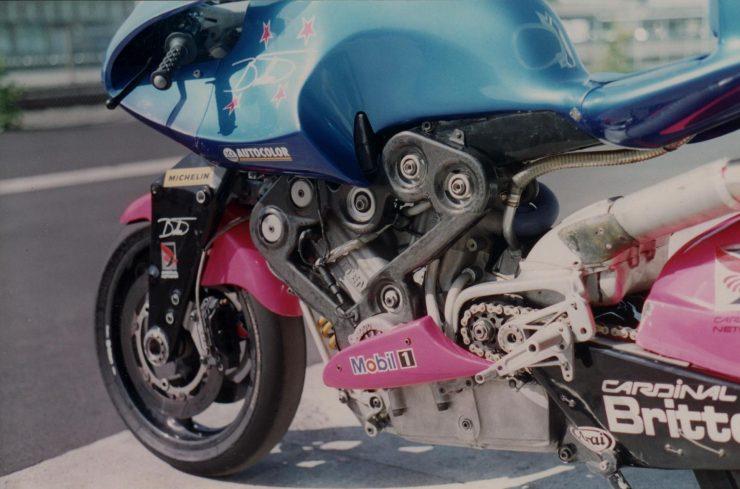 Britten V1000 Motorcycle Engine