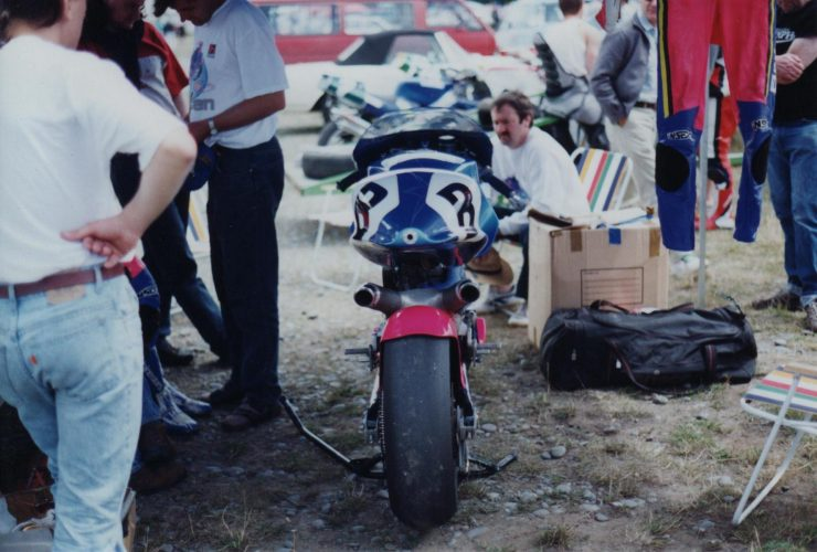 Britten V1000 Motorcycle On Track 1