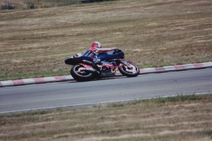 Britten V1000 Motorcycle On Track 3