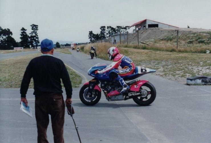 Britten V1000 Motorcycle On Track 4