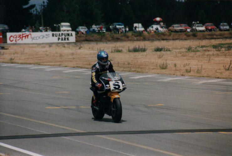 Britten V1000 Motorcycle On Track