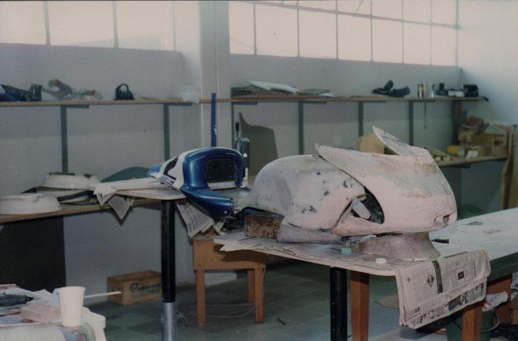 Building The Britten V1000 Fairing