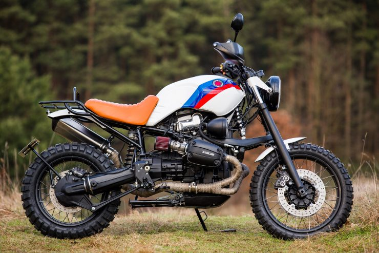 Custom BMW R1100 GS 5