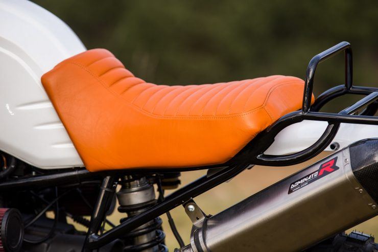 Custom BMW R1100 GS Seat