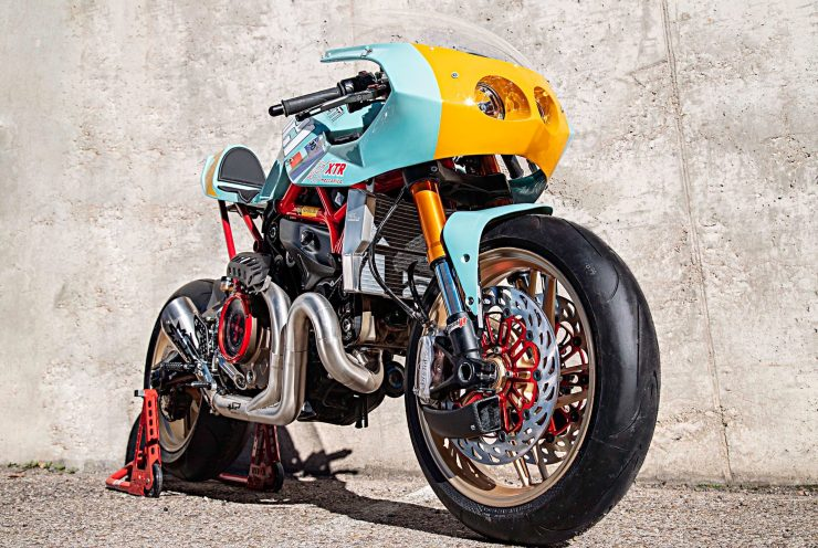 Custom Ducati Monster 10