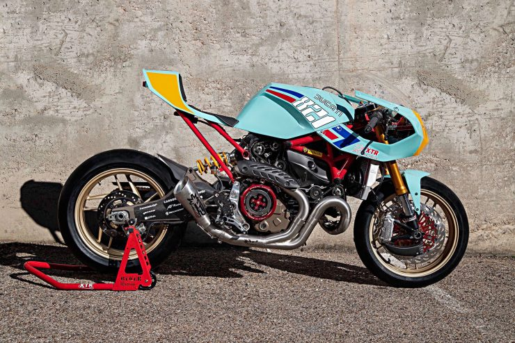 Custom Ducati Monster 3