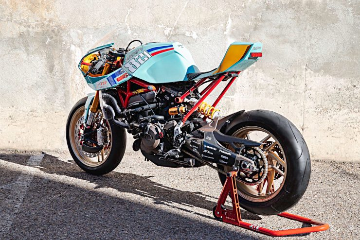 Custom Ducati Monster 5