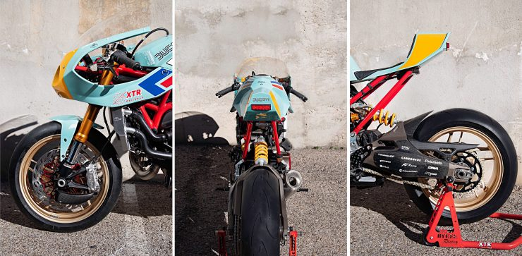 Custom Ducati Monster Collage