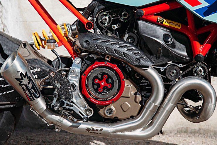 Custom Ducati Monster Engine