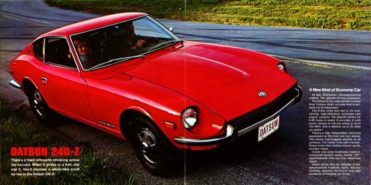 Datsun 240Z Brochure
