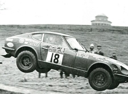 Datsun 240Z Rally Racing