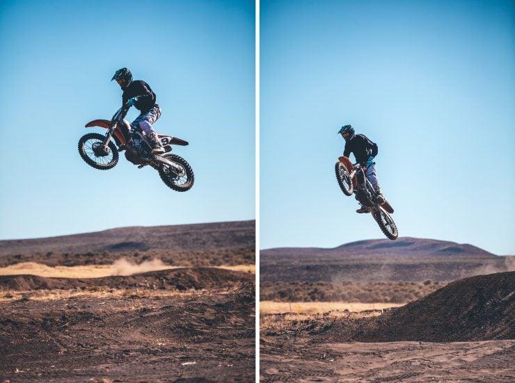 Desert Race Motorcycle