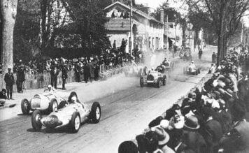Early Formula 1 Grand Prix