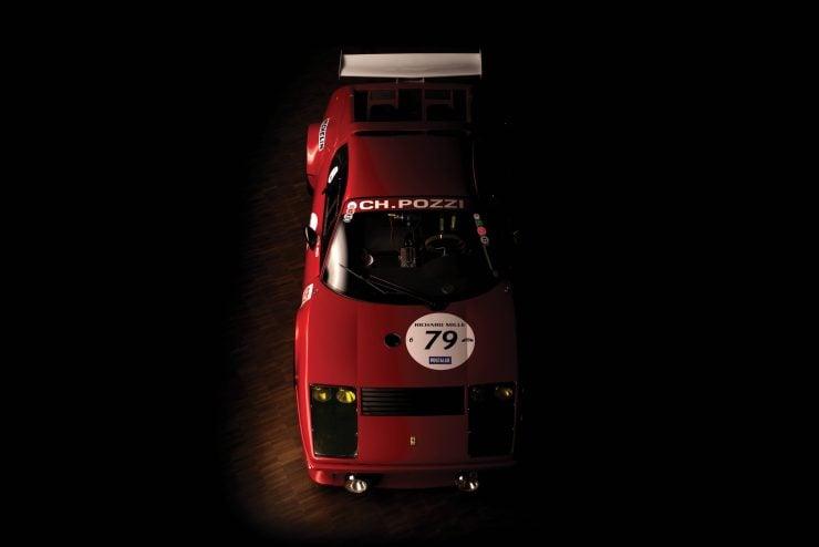 Ferrari 512 BB Overhead 2