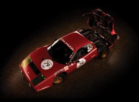Ferrari 512 BB Overhead