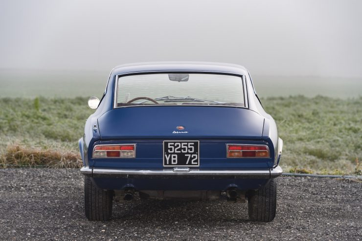Fiat Dino Coupé Back