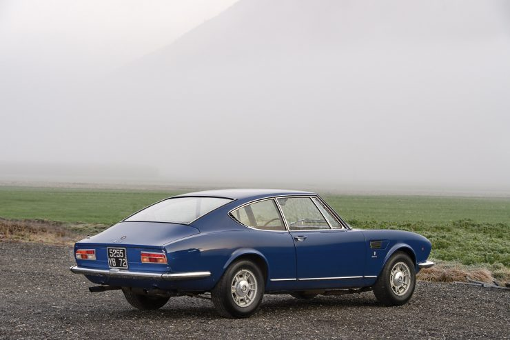 Fiat Dino Coupé Rear
