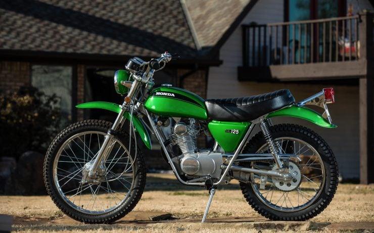 Honda SL125 Motosport