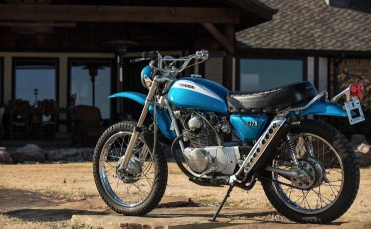 Honda SL175 Motosport 3