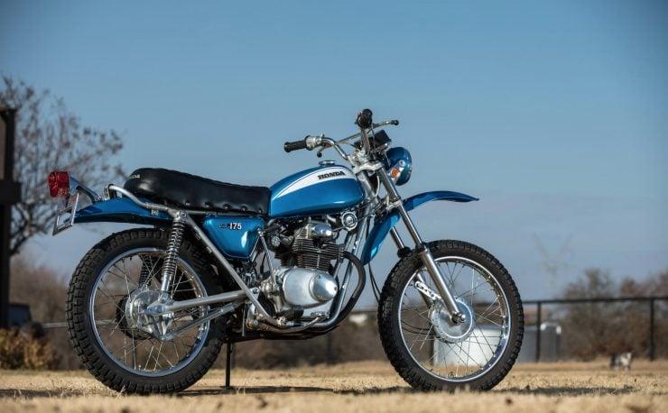 Honda SL175 Motosport 4