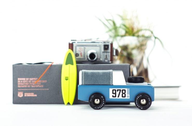 House of Candy Drifter Land Rover Wooden Car 3