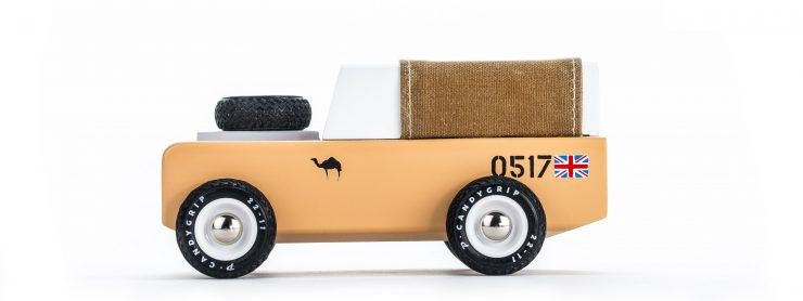 House of Candy Drifter Land Rover Wooden Car 9