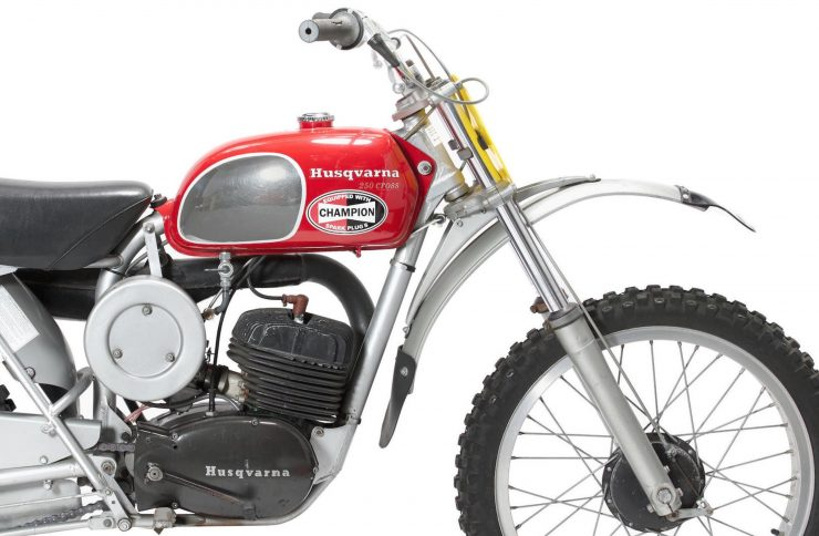 Husqvarna 250 Cross Front