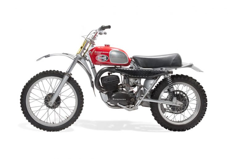 Husqvarna 250 Cross Left Side