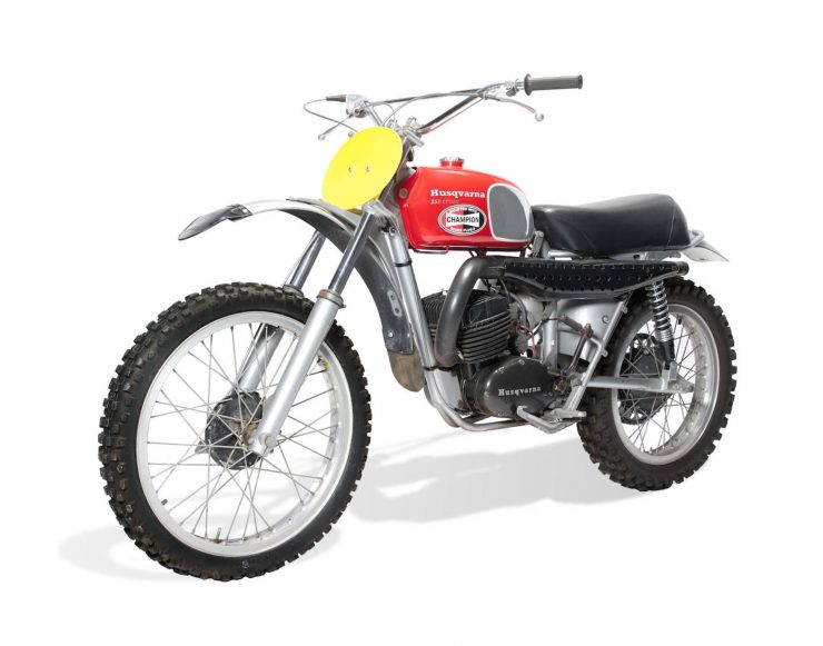 Husqvarna 250 Cross Main