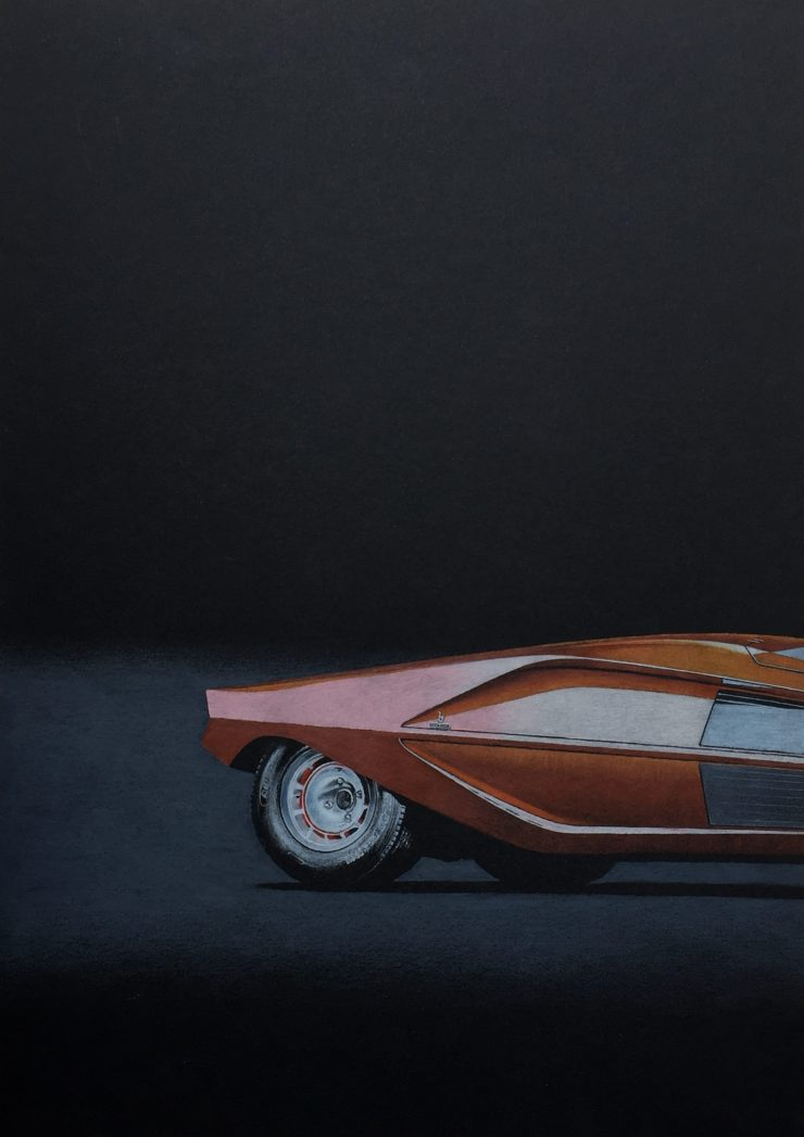 Lancia Stratos Zero Art Arsenio