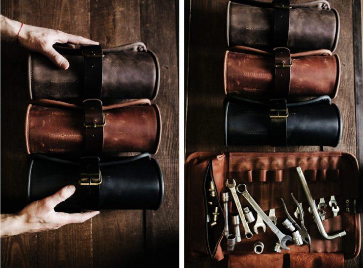Leather Tool Roll Kruk Garage 2
