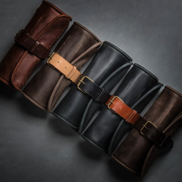 Leather Tool Roll Kruk Garage 3