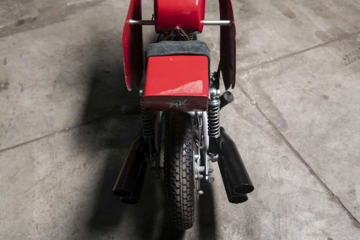 MV Agusta Mini Bike Rear