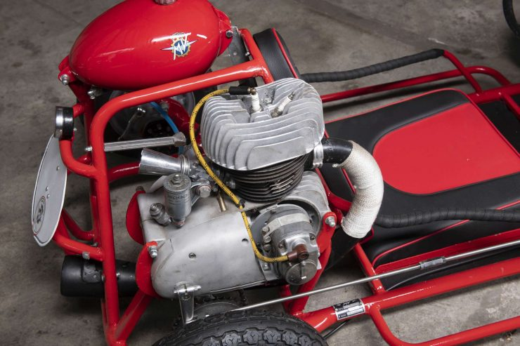 MV Agusta Tony Go Kart Engine