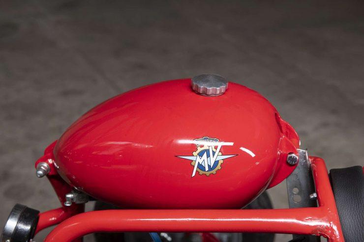 MV Agusta Tony Go Kart Fuel Tank