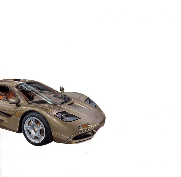 McLaren F1 Art Arsenio