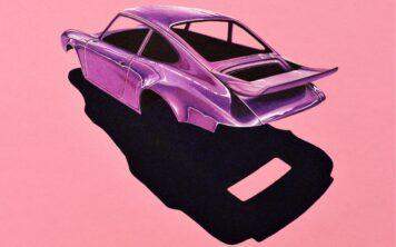 Porsche 911 Body Art Arsenio Main