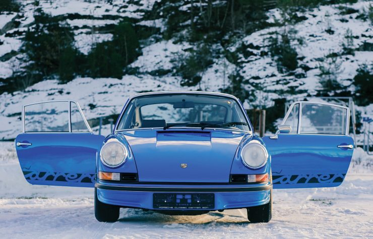 Porsche 911 Carrera RS 2.7 Touring Front 2