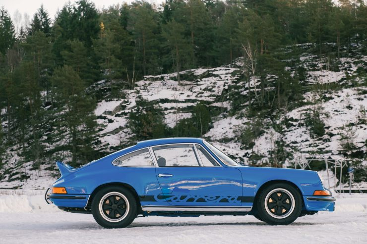 Porsche 911 Carrera RS 2.7 Touring Side