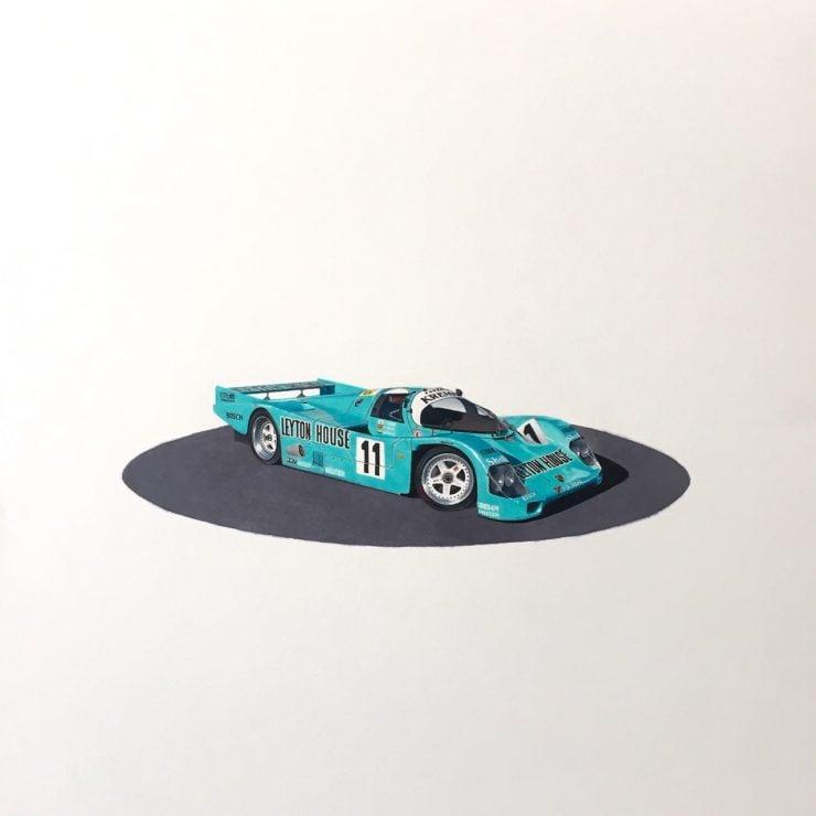 Porsche 962 Art Arsenio