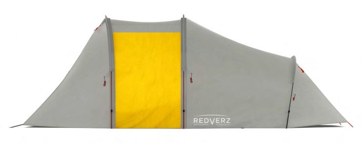 Redverz Atacama Expedition Motorcycle Tent 1