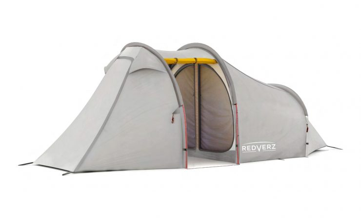 Redverz Atacama Expedition Motorcycle Tent 2