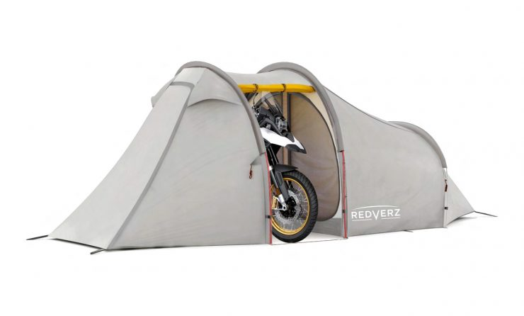 Redverz Atacama Expedition Motorcycle Tent 3